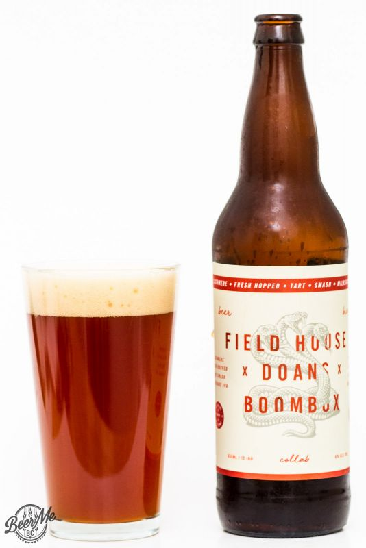 Fieldhouse, Doans & Boombox Collaboration IPA Review
