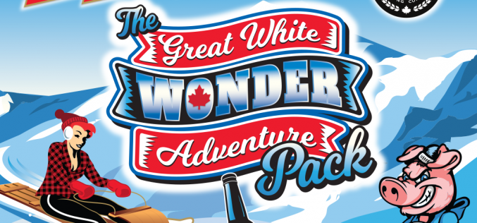 Red Racer and Parallel 49 Brewing Announce Great White Wonder Adventure Pack of 24 Winter Beers