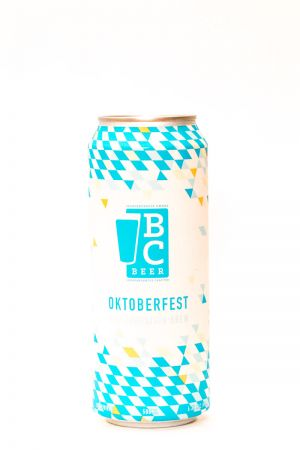 Bomber Brewing BC Craft Brewers Guild Collaboration Oktoberfest Lager Can