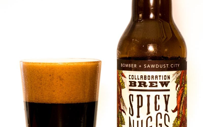 Bomber Brewing Sawdust City Collab Spicy Nuggs Imperial Rye Stout