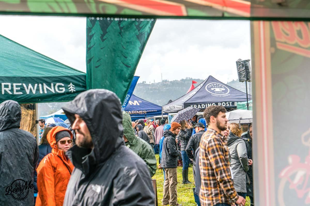 BC Hop Fest 2017 Sun Showers with Tents