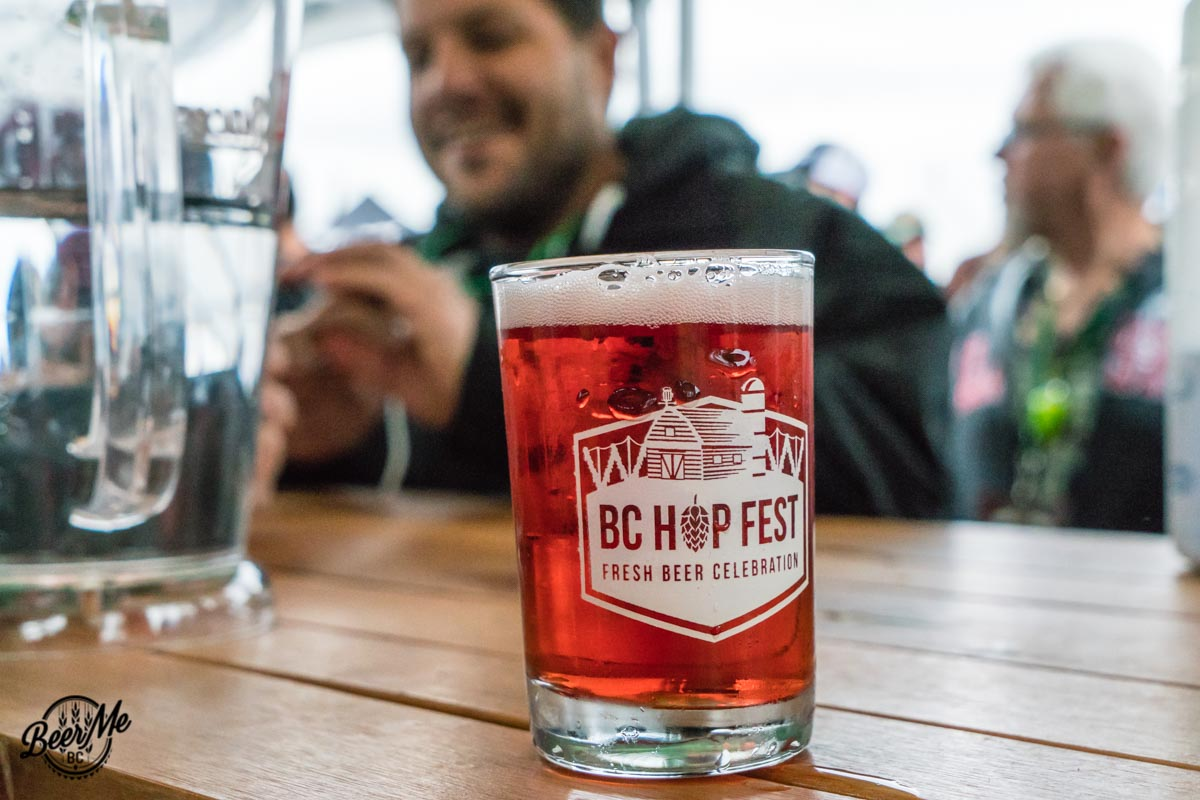 BC Hop Fest 2017 Glass Close-up