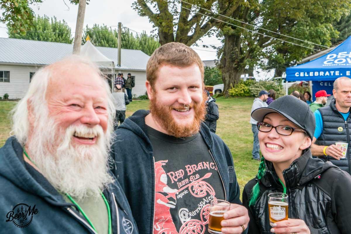 BC Hop Fest 2017 Enjoying the Beer
