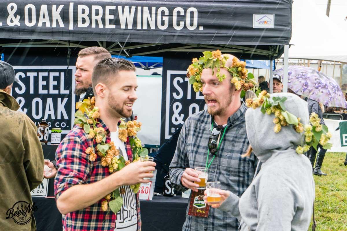 BC Hop Fest 2017 Hop Crowns