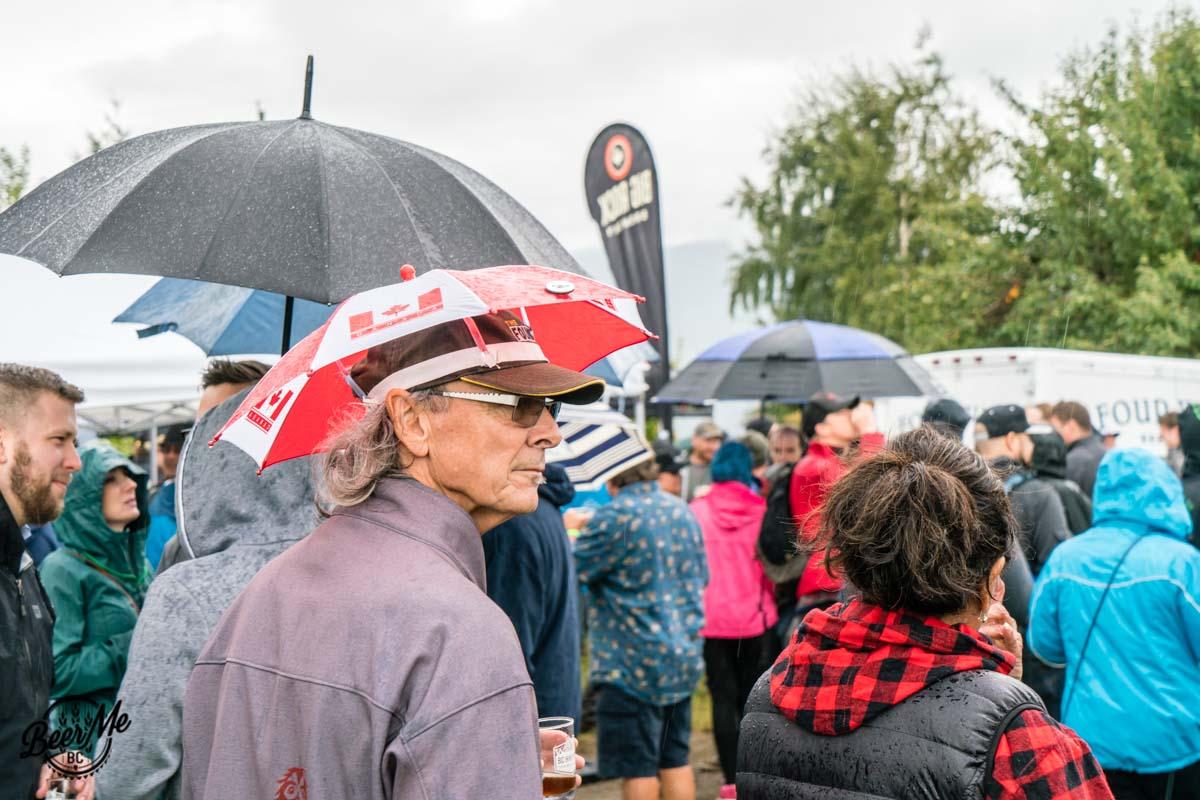 BC Hop Fest 2017 Umbrella Hat