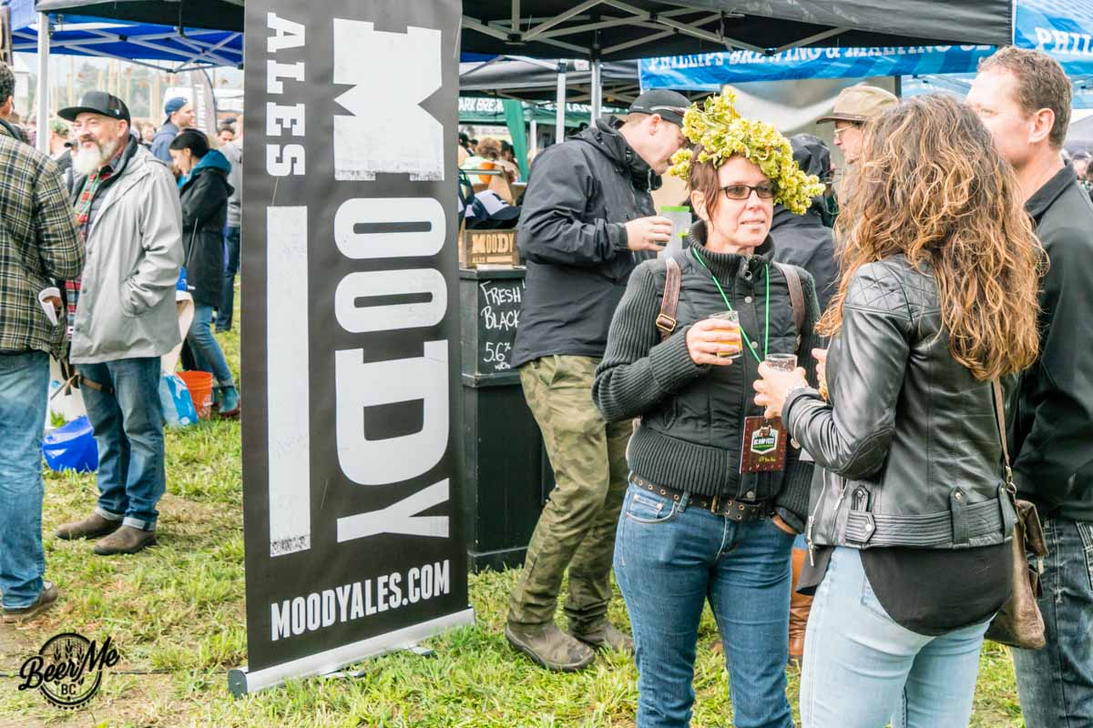BC Hop Fest 2017 Moody Ales and Hop Crown