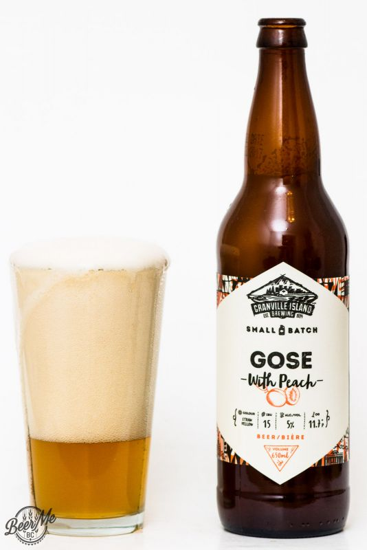 Granville Island Gose With Peach Review