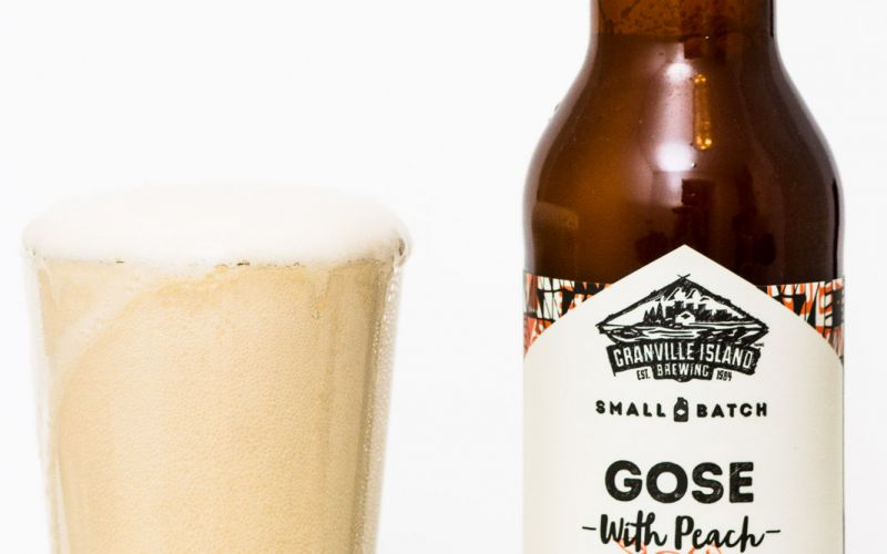 Granville Island Brewing – Gose With Peach