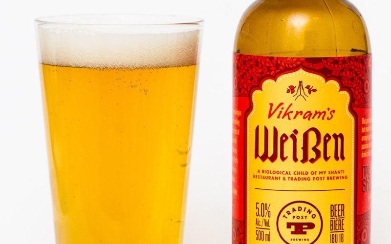 Trading Post Brewery – Vikram's Weissen