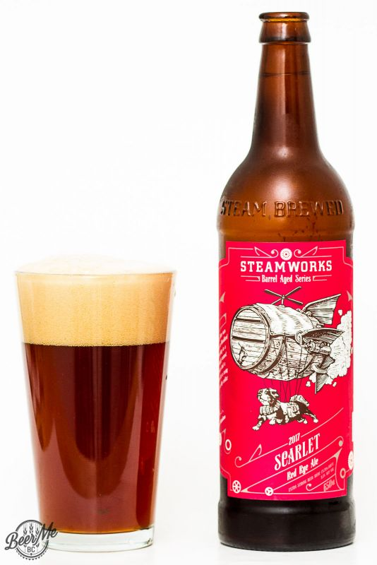 Steamworks Brewing Co. - Scarlet Rye Barley Wine Review