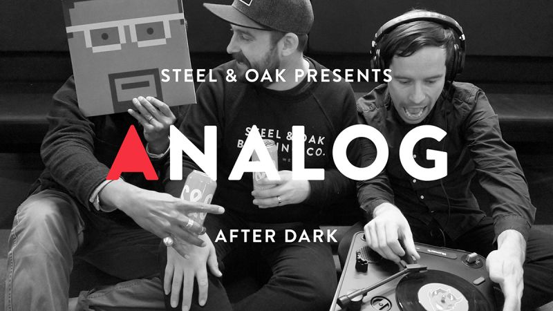Steel and Oak Analog After Dark Photo