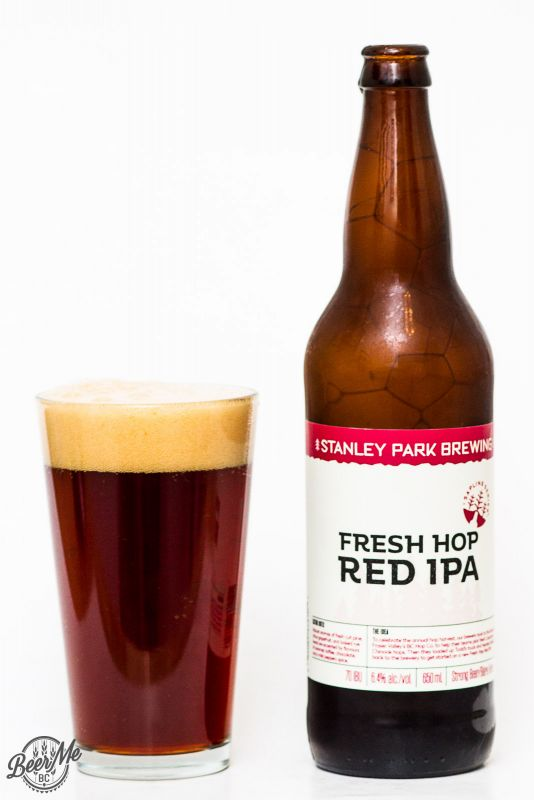 Stanley Park Brewery - Fresh Hop Red IPA Review