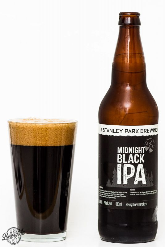Stanley Park Brewing - Midnight Black IPA Review