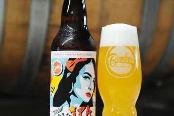 Snow White IPA Wakes Up In Time for the Holidays from Bomber Brewing