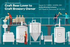 Craft brewery startup seminar to feature Andrés Amaya of Andina Brewing