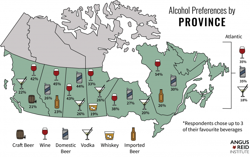 Canada Beer Map Survey says: BC the most craft crazy province in Canada | Beer Me