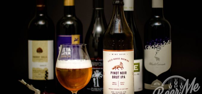 Field House Brewing – Pinot Noir Brut IPA