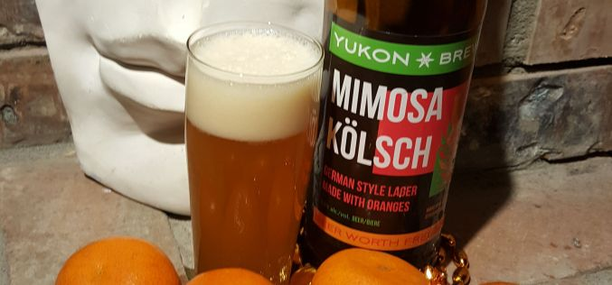 Yukon Brewing: Mimosa Kolsch Review