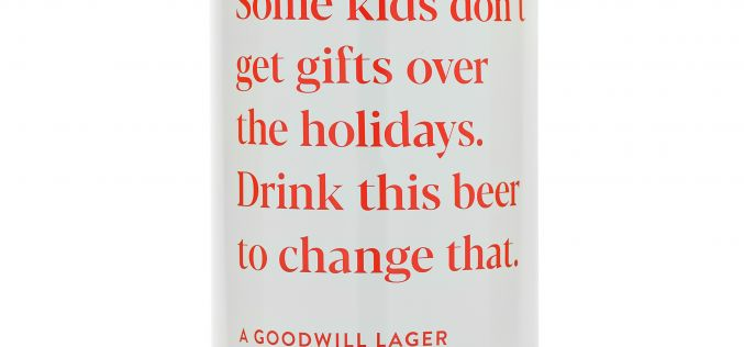 Red Truck and Donnelly Group launch Goodwill Lager for Toy Drive fundraiser