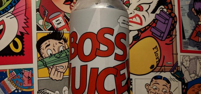 Moody Ales – Boss Juice Hazy Double IPA
