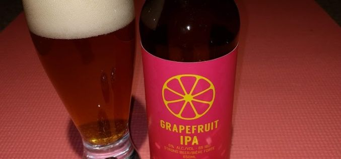 4 Mile Brewing – Grapefruit IPA