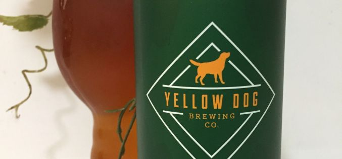 Yellow Dog Brewing – Alpha Dog Fresh Hop Pale 2018