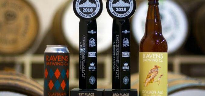 Ravens Brewing Company Wins at the 2018 BC Beer Awards