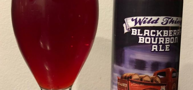 Red Truck: Wild Thing Blackberry Bourbon Ale Review