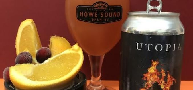 Howe Sound Brewing – Utopia-Cranberry Orange Sour