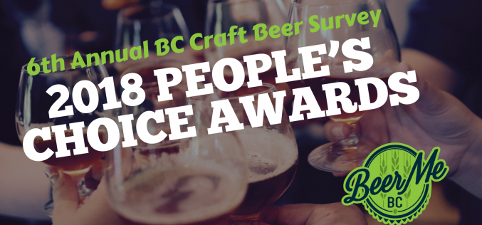 The Best in BC Craft Beer – 2018 People's Choice Awards