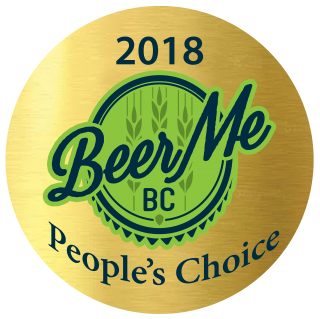 Beer Me BC - 2018 People's Choice Award