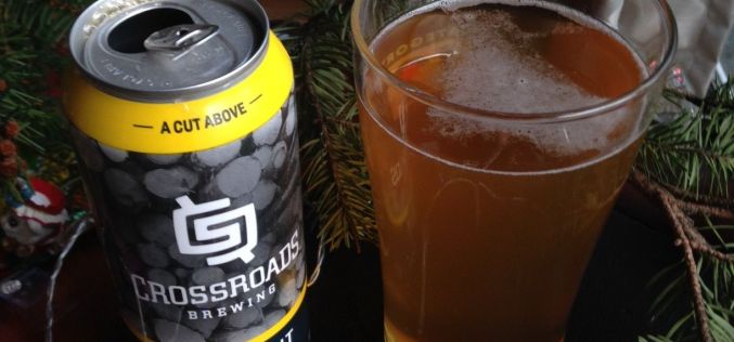 CrossRoads Brewing- ClearCut Lager