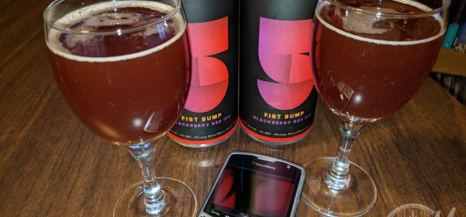 Yellow Dog x Trolley 5 Fist Bump Blackberry Red IPA