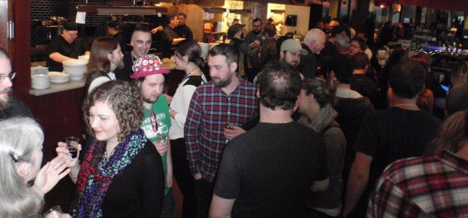 A caskalicious Brew Year's Eve at Central City's original location
