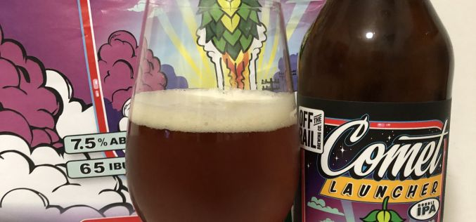 Off The Rail Brewing – Comet Launcher Double IPA