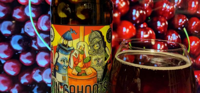 Lighthouse x Town Square – In Cahoots Dark Cherry Sour
