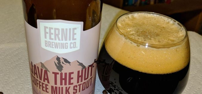 Fernie Brewing – Java The Hut Coffee Milk Stout
