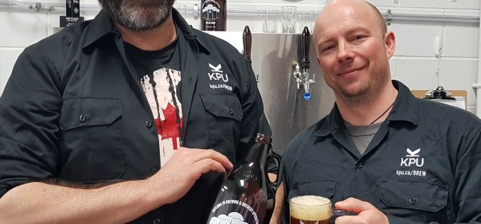 KPU Brewing students release first of 10 signature recipe beers