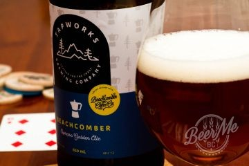 Gibsons Tapworks Beachcomber Espresso Golden Ale Review