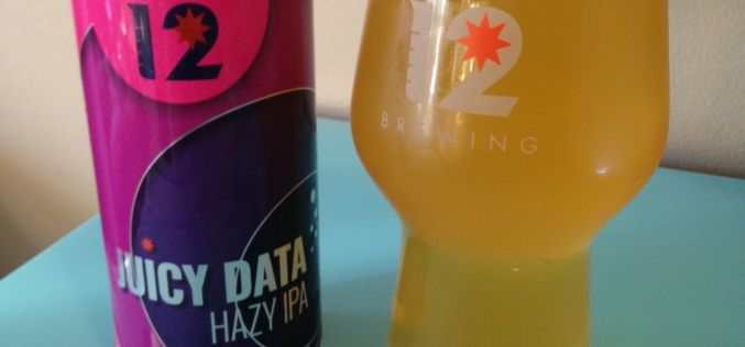 Juicy Data Hazy IPA-Category 12 Brewing