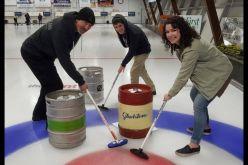 Breweries battle in Keg Curling Fundraiser