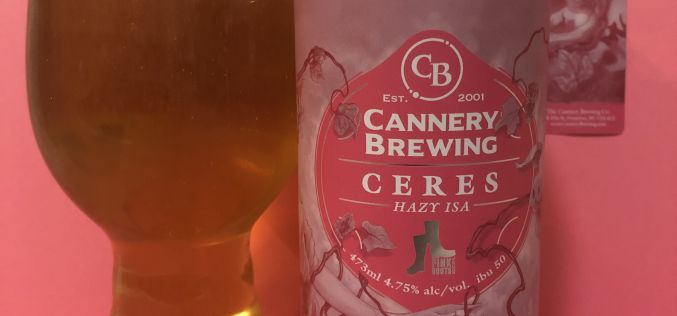 Cannery Brewing – Ceres Hazy ISA