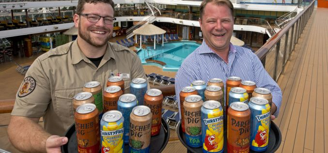Carnival Cruise Line brews beer on board