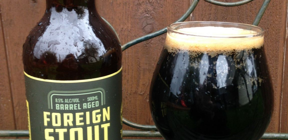 Sooke Brewing Company- Barrel Aged Foreign Stout