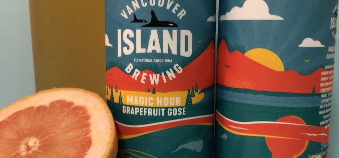 Vancouver Island Brewing – Magic Hour Grapefruit Gose