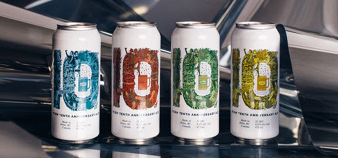 Vancouver Craft Beer Week Releases Annual Collaboration Beer: Ten