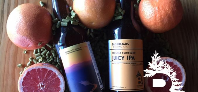 Backroads Brewing Releases Freshly Squeezed Juicy IPA