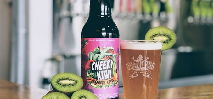 Dead Frog Launches Brand New Cheeky Kiwi Sour IPA!