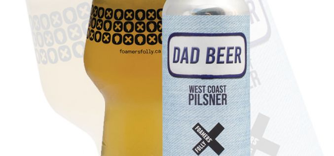 Foamers' Folly Brewing Releases Dad Beer West Coast Pilsner