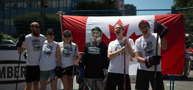 Timber Restaurant hosts Canada Day Ball Hockey Tournament supporting BASH